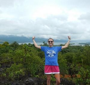 mountain-double-strong-arm-selfie-flexing