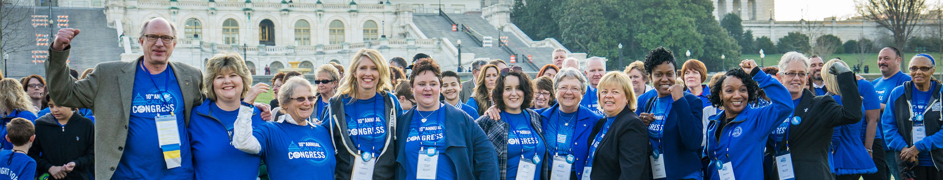 Colorectal Cancer Survivors at Call on Congress