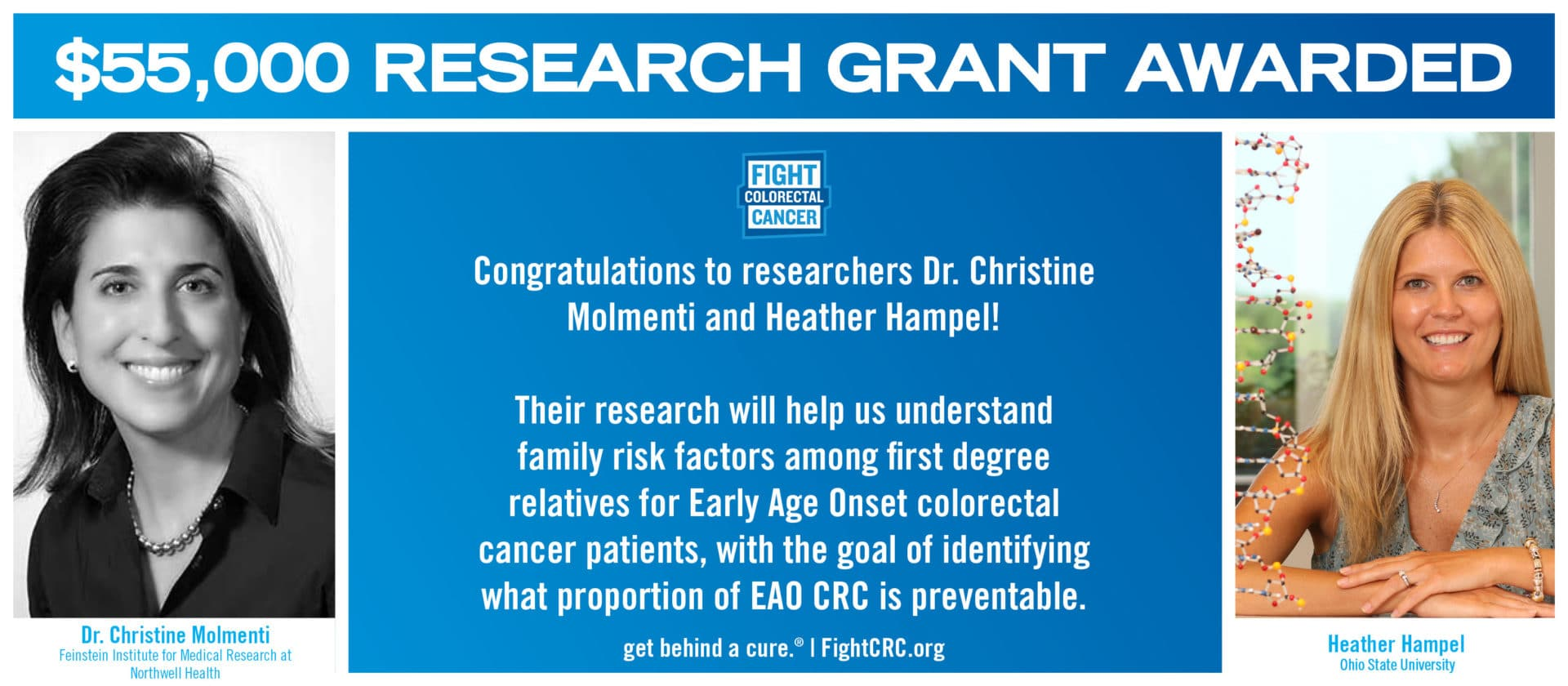 Fight Crc Awards Grant To Researchers Studying Early Age Onset Colorectal Cancer Fight Colorectal Cancer